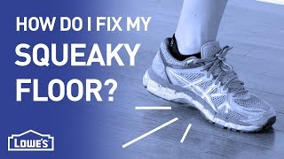 How Do I Fix My Squeaky Floor? | DIY Basics