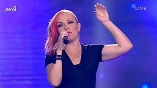 "The Voice of Greece | Τζώρτζια - ""Τον ίδιο το Θεό"" | 5th Live Show (S01E17)"