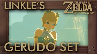 What If Linkle Buys Gerudo Clothes in Zelda Breath of the Wild?