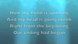 Deepest Blues are Black- Foo Fighters (lyrics)