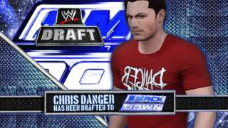 Chris Danger Has Been Drafted to SmackDown // @thechrisdenker