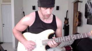 Joe Satriani - flying in a blue dream cover (by Omer Katzir)