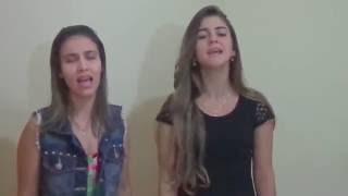 Covers Sarah Escodino e Yasmin Lemos  Musica versão GABRIELA ROCHA  Teu santo nome