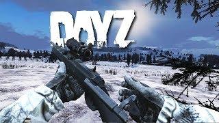 Winter Sniper in DayZ...