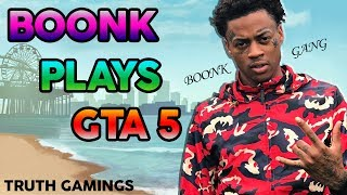 BOONK GANG PLAYS GTA 5! HAHA TOO FUNNY LMAO 😂😂