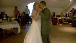 Sara och Crippas bröllopsvals 100605