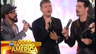 Backstreet Boys - Good Morning America - Permanent Stain Acapella (15th May 2013)