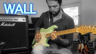 Pink Floyd Another Brick in the WALL Guitar Solo Cover