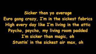 Fabolous feat. Trey Songz & Red Cafe - Sicker Than Yo Average [Lyrics on Screen]