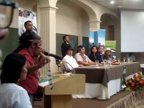 II Foro Nacional de Turismo Comunitario – Ritual de Iniciación
