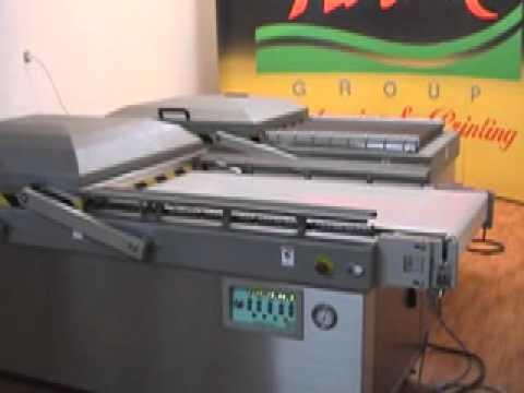 Video-14, Vakum Paketleme, Bantli Vakum Paketleme Makinası