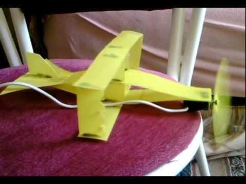 el yapımı tek motorlu uçak çok basit.