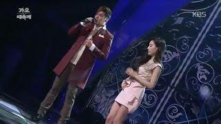 [Live] 141226 Taeyeon X Hwanhee - Like a star @ KBS Gayo Daechukjae