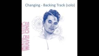 Changing - John Mayer (Guitar backing track - solo section)
