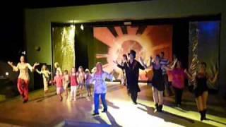 """Nana-Tanz"" im Hotel Nana Beach Kreta 2009 - Abschluss der Show"