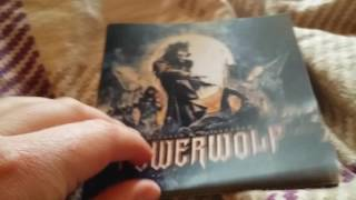 Powerwolf - Blessed and Possessed ( Cd Unboxing )