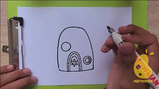 How To Draw Spongebob House Videos Infinitube