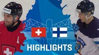 Switzerland - Finland   Highlights   #IIHFWorlds 2017