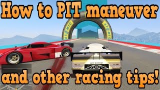 GTA online guides - How to PIT and other racing tips