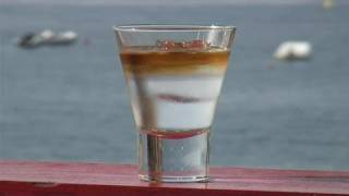 How To Mix A Brandy Mint Float Cocktail