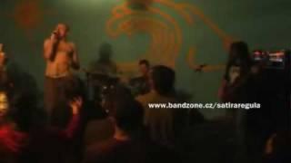 Satira Regula - Pardón - live Nová Paka 29/5/09