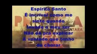 Priscilla Alcantara Espirito Santo playback com letra