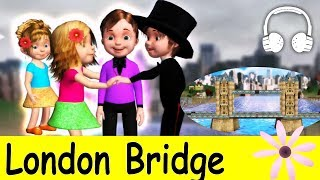 The London Bridge is Falling Down | Family Sing Along - Muffin Songs