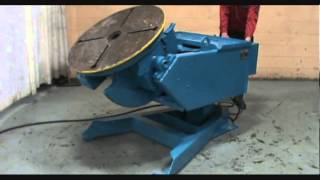 4000 LB RANSOME WELDING POSITIONER: STOCK #60018