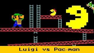 Luigi kong VS Pac-man
