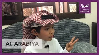 Filipino child who can only speak fluent Arabic