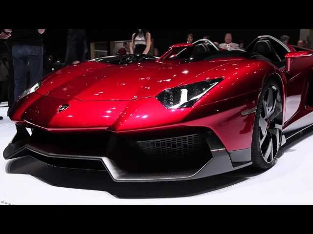 2013 Lamborghini Aventador J - 2012 Geneva Motor Show