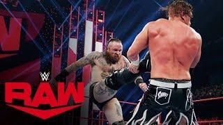 Aleister Black brawls with Buddy Murphy: Raw, Nov. 25, 2019