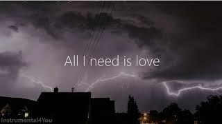 Thunderclouds  LSD Instrumental Karaoke Lyrics [CC]