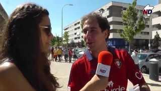 Post-partido Osasuna 6, Mallorca 4 (21-09-14)