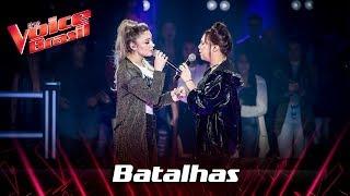 Camila Pelegrina e Flavia Gabê cantam 'Ouvi Dizer' nas Batalhas - The Voice Brasil | 7ª Temporada