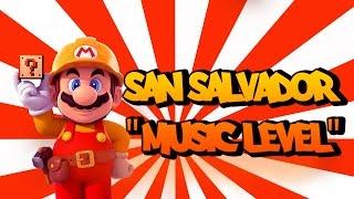 """Super Mario Maker - David Moleon """"San Salvador"""" Music Level"""