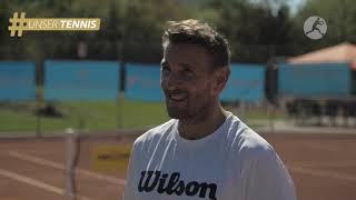 """Schauspieler Mark Keller dreht für Online-Kampagne """"Unser Tennis"""""""
