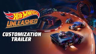 Hot Wheels Unleashed trailer shows customization