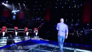 Jesse Campbell - A Song for You  - The Voice Blind Auditions