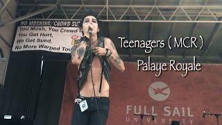Teenagers ( MCR ) - Palaye Royale // Vans Warped Tour 2016 Nashville