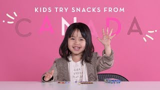 Canadian Snacks   Kids Try   HiHo Kids