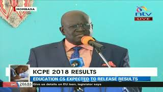 """I will give my last drop of blood to Starehe Boys Centre."" KNEC CEO George Magoha"