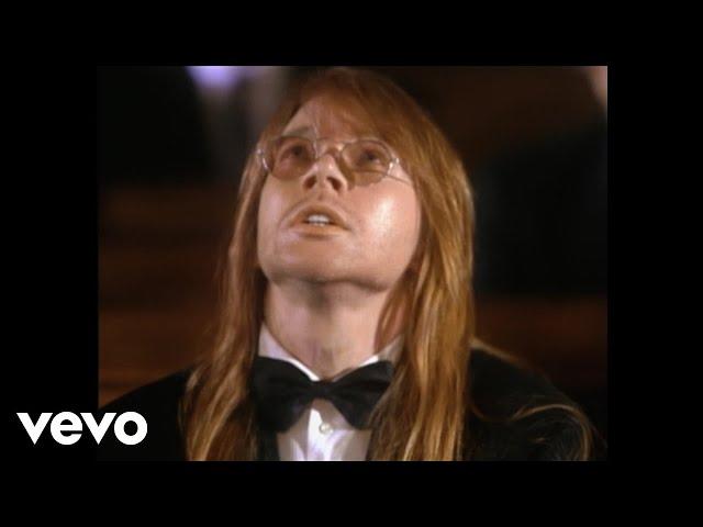 """Video oficial de """"November Rain"""" de Guns N' Roses"""
