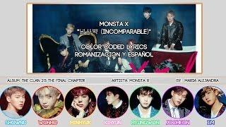 "MONSTA X (몬스타엑스) ""넘사뱍 (Incomparable)"" [COLOR CODED] [ROM SUBESPAÑOL LYRICS]"
