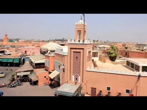 Marocco, Marrakech – Jama'a el-Fnaa – HD
