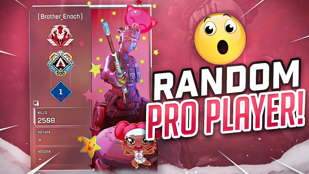 Ratchet - My RANDOM Was a PRO PLAYER! (Apex Legends)