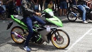 Y15zr Hijau Fluorescent Padunye Drag Racing Kubang Menerong Apr 2018