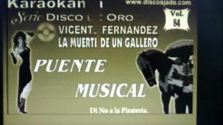 Homenaje a Vicente Fernández... Pasándola a mi manera