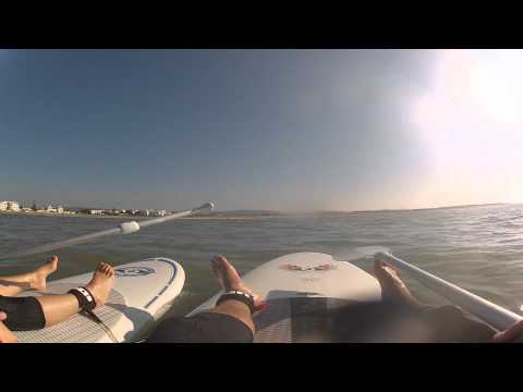 Morocco SUP gopro HD 2 chesty