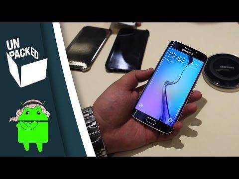 أول نظرة على الـ Galaxy S6 Edge